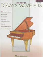 MOVIE HITS FOR EASY PIANO Sheet Music Book Songbook Film Themes Songs Tunes