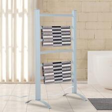 6 Bars Towel Warmer Electric Heated Dryer Rack Freestanding Stainless Steel