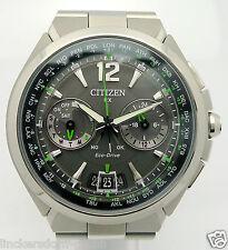 Citizen RX ECO DRIVE Satellite WAVE UOMO ACCIAIO QUARTZ OROLOGIO-circa 2010er anni