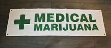 Medical Marijuana Banner Advertising Sign Dispensary CBD Oil Legal Pot Store New