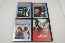 Lethal Weapon 1,2,3,4 DVD Set Director's Cut (1-3)