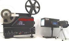 Komplette Filmtransfer-Ausrüstung,Super 8 Filmprojektor