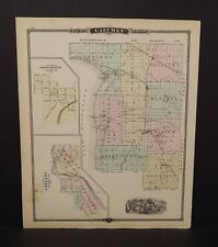 Wisconsin Manitowoc County or Sheboygan 1877 Single Pg Special Price! L14#42