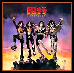 "4"" KISS Destroyer vinyl sticker. Heavy Metal album decal for car, laptop, guitar"