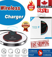 Fast QI Wireless Charger Charging Pad For iPhone XS XR 11 Pro Max Samsung S10 S9
