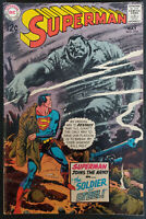 Superman #216 FN/VF 7.0 1969 Silver Age DC Comics Nice Copy
