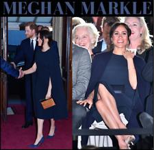 Stella McCartney Cape Dress, Navy, US 6, ASO Royal Celebrity