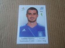 Vignette panini - Euro 2012 - Pologne / Ukraine - Grèce - N°088 - Loukas Vyntra
