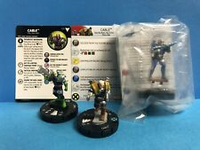 Heroclix Marvel Deadpool Cable 052 super rare Cable 015 XAS and LE Cable M15-001
