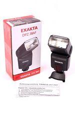 EXAKTA DPZ 38AF Blitzgerät Leitzahl 38 bei ISO100 TTL Blitzlicht für Canon