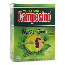 Campesino menta y boldo-mate té desde paraguay 500g