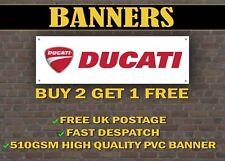 Ducati Banner for Garage / Shop / Promotional Item