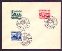 Dt. Reich 1939 - Nürburgring - MiNr. 695/697 mit SST - Michel 100,00 €+ (398)
