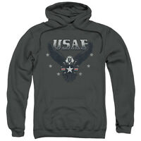 US Air Force USAF Screaming Eagle INCOMING Licensed Sweatshirt Hoodie