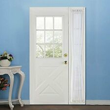 RHF Sidelight panel curtains - 30W by 72L Inches - Side lights front door curtai