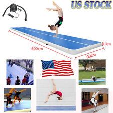 6M Air Track Floor Home Inflatable Gymnastics Tumbling Mat GYM Exercise Yoga USA
