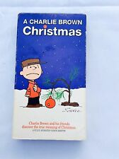 A Charlie Brown Movie Christmas Animated Video Cassette, Vintage VHS Peanuts