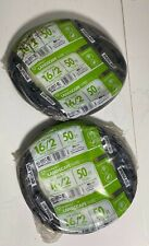 (2) Southwire Landscape Wire Low Voltage 16/2 - 50 ft Cable - New Old Stock