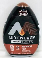 Mio Energy Iced Mocha Java Liquid Iced Coffee Concentrate 1.62 oz