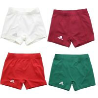 """Adidas 9682W Women's Techfit Climalite 4"""" Spandex Tight Volleyball Shorts"""