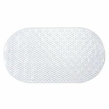 Oval Bathmat, Plastic, Clear