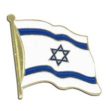 Wholesale Lot Israel Flag Lapel Hat Cap Pin 12 each USA SHIPPER