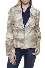 Hüftlange Jacken mit Camouflage-Muster und Knöpfen