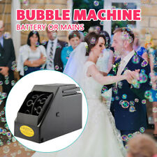 Bubble Blower Machine Maker Automatic Kids and Adults Electric Battery Powered