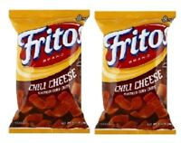 Fritos Chili Cheese Corn Chips 2 Pack Frito Lay Crunchy Chips