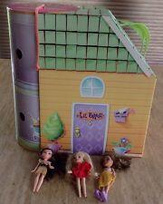 Loungin' Loft Lil Bratz Doll House Figures Elevator MGA Toy Storage Case