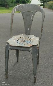 Chaise Vintage TOLIX/chaise industrielle/déco indus/old industrial chair