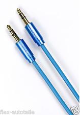Origami Audio Kabel - Klinkenkabel - 3,5 mm / blau / Klinke Aux Audiokabel 1M