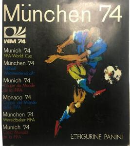 ALBUM  Figurine PANINI   München  74  SOLO  ( 5 figurine mancanti ) OTTIMO !!!