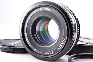 Mint Nikon Ai-s Nikkor 50mm f/1.8 AIS Pancake Prime MF Lens From Japan Caps SLR
