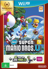 Nintendo Selects New Super Mario Bros. U + New Super Luigi U Nintendo Wii U WiiU
