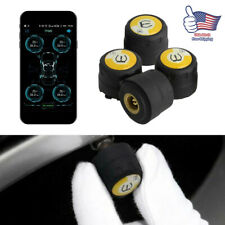 Car Bluetooth Tire Pressure Monitor System External Sensors For IOS Mobile Phone
