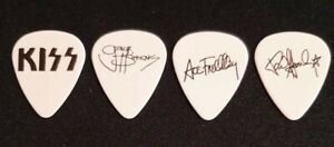 KISS ALIVE II Set Of 3 (Three) Ace, Gene, Paul Reproduction Guitar Pics