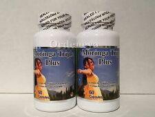 2 Moringa Extract Claris Vitamins 1000 mg Top Quality Energy Booster Weight Loss