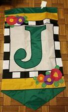 "Mary Engelbreit Flag Banner ""J"" Windsport New Rare"