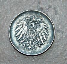 J. 298 ,  10 Pfennig 1917 D , ohne Randperlen , sehr selten