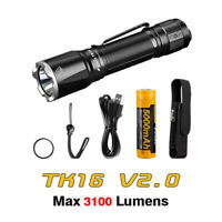 Fenix TK16 V2.0 Luminus SST70 LED 3100 Lumens Tactical Flashlight Torch