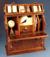 Traveling secretary -desk - 1/12 scale dollhouse miniature