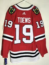 adidas Authentic Adizero NHL Jersey Chicago Blackhawks Jonathan Toews Red sz 54