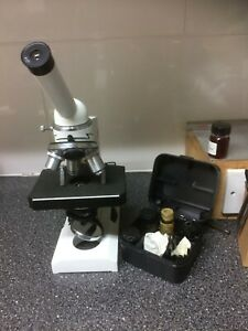 Compound Biological Microscope (preowned)