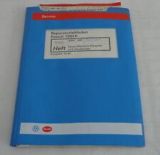 Werkstatthandbuch VW Passat B4 Mono-Motronic Einspritzanlage Zündanlage ab 1994