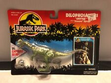 Jurassic Park 1993 Dilophosaurus w/ Movie Card Capture Gear Kenner MOC Series 2