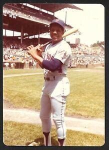 1972 Willie Mays NEW YORK METS  UNSIGNED  3-1/2 x 4-7/8 KODAK SNAPSHOT PHOTO #37