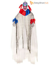 Spinning Clown Prop + Sound 150cm Animated Halloween House Party Decoration