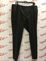 Talbots Size 16P Black Chalkstripe Dress Pants