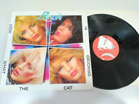 "Poison Look What The Cat Dragged IN 1986 Spain Edition - LP vinyl 12 "" VG/VG 2T"